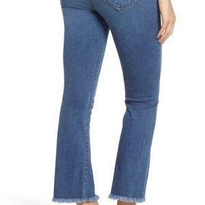 Womens Kensie Jeans straight with Fray Hem